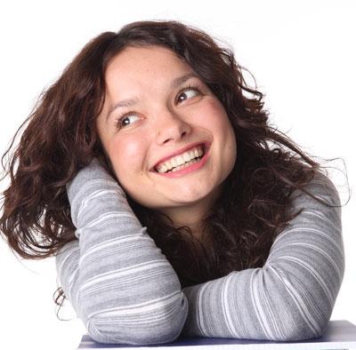 Nasmejana žena je lepa žena