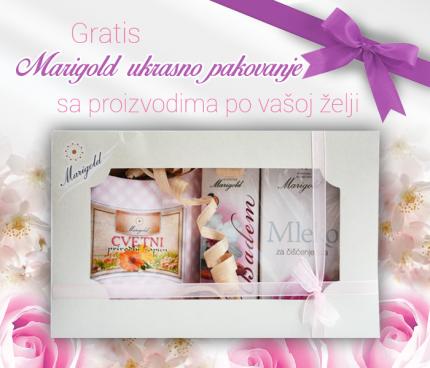 NOVO- Marigold ukrasno pakovanje za proizvode