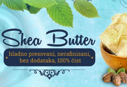 Delotvorno dejstvo Shea buttera poznato još iz doba Antičkog Egipta